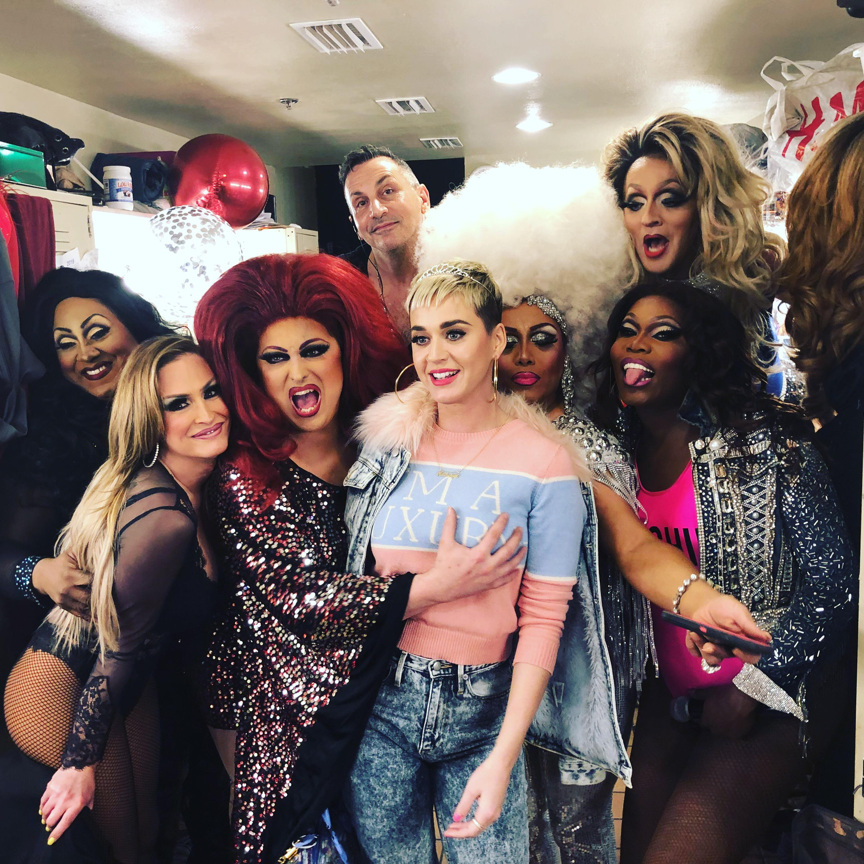 Katy Perry Spotted at S4's Rose Room Ahead Of Dallas Show
