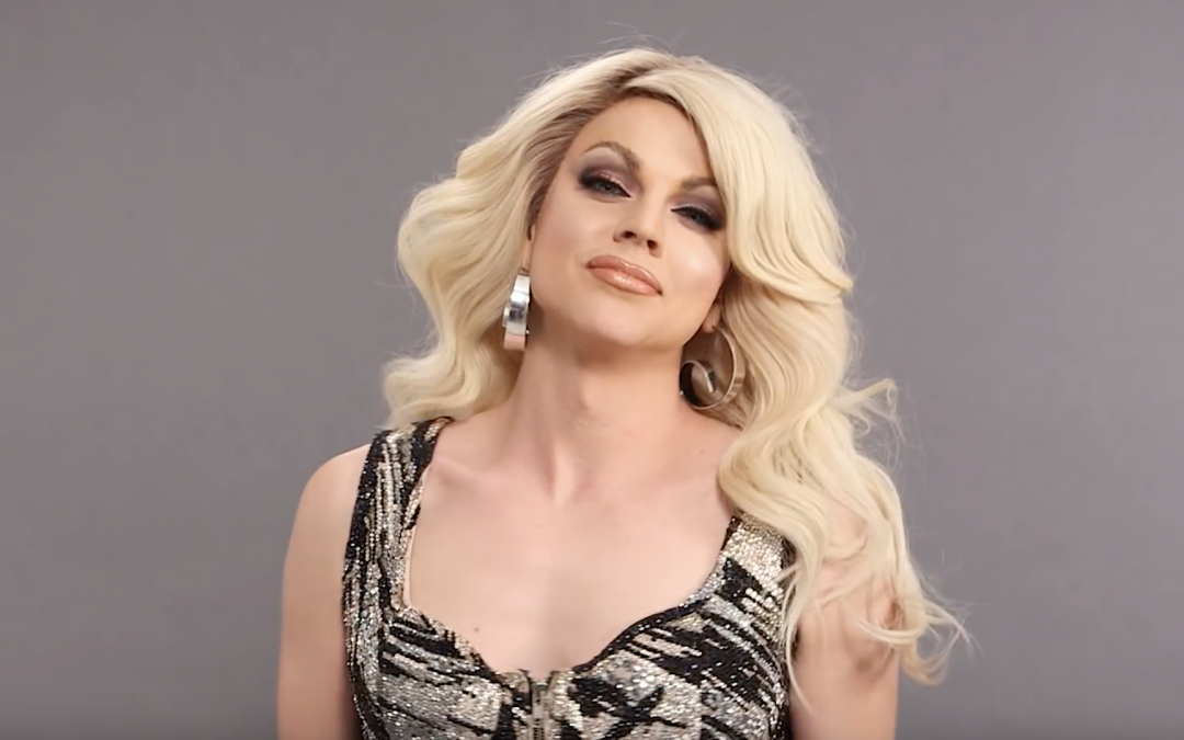 Drag Queen Makeup: Courtney Act for COSMO