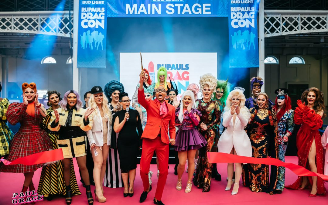 This weekend, Rupaul's DragCon 2020 goes digital and the lineup will have you gagging