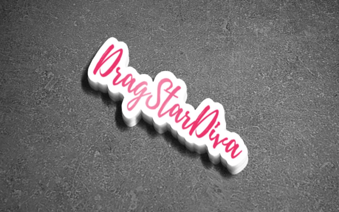 Drag Star Diva Sticker