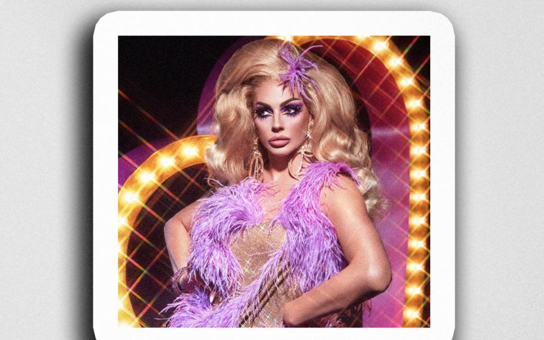 """Alyssa Edwards """"Showgirl"""" Sticker"""