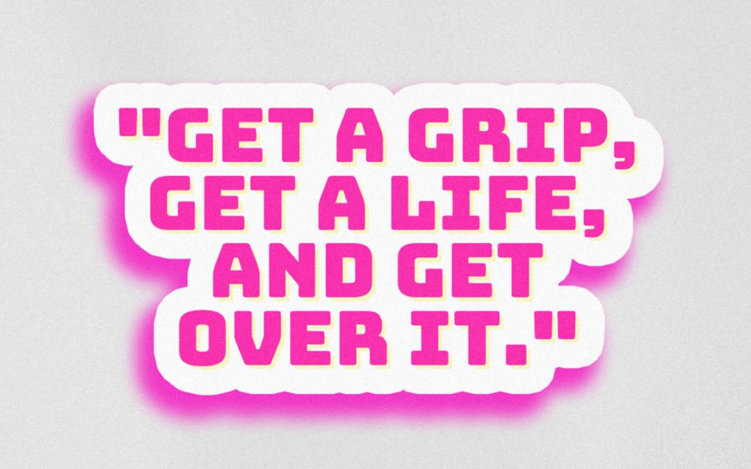"""Alyssa Edwards Sticker """"Get Over It"""""""